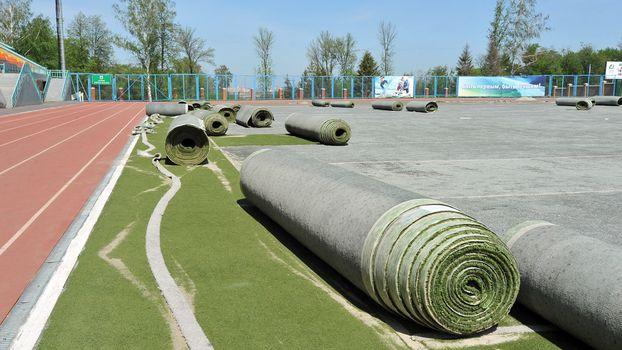 В Казани приступили к капитальному ремонту ряда спортивных объектов Универсиады 2013