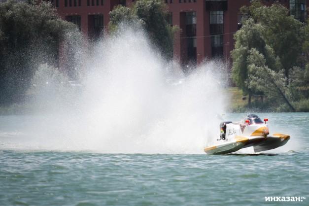 Сегодня в Казани состоится основной этап гонок «Формулы-1» на воде
