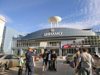 Тренажерный зал в спорткомплексе «Динамо»