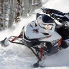 В Челнах гонялись на снегоходах