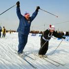 Стартует «Волжская лыжня-2012»