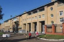 Корт для большого тенниса на стадионе «Трудовые резервы»