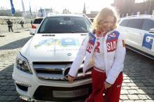 Чемпионы Олимпийских Игр в Сочи получили главный приз - автомобиль