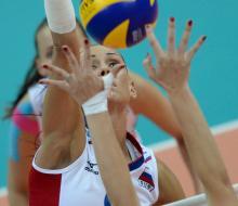 Волейболистки одержали вторую победу в Казани