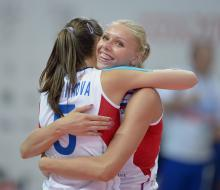 Волейболистки России вышли в финал Универсиады