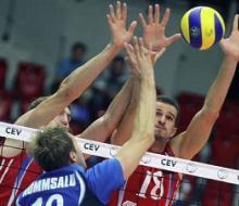 Российские волейболисты Олимпиаду начали с победы
