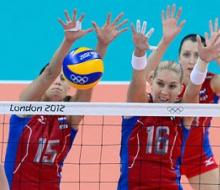 Наши волейболистки вышли в четвертьфинал Олимпиады