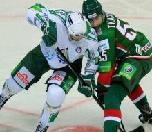 «Салават Юлаев» с минимальным счетом обыграл «Ак Барс»