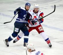 Динамовцы «спаслись» в первой встрече 1/8 Кубка Гагарина против «Локомотива»