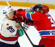 СКА одержал победу в Москве над ЦСКА и повел в серии 3:0