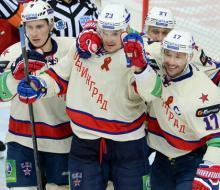 СКА в четырех матчах проходит ЦСКА