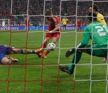 «Бавария» проходит «Арсенал» в ЛЧ