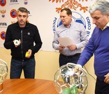Определились хозяева в матчах 1/4 финала Кубка России