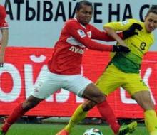 «Спартак» на пятой добавленной минуте упустил победу в матче с «Анжи»