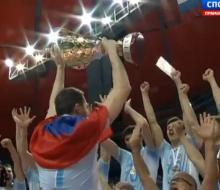 «Зенит-Казань» обыграл новосибирский «Локомотив» и стал чемпионом страны