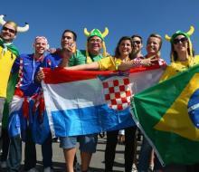 Стали известны стартовые составы Бразилии и Хорватии