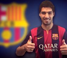 «Барселона» объявила о переходе Суареса