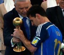 Месси признан лучшим игроком Чемпионата мира 2014