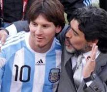 Марадона считает, что Месси не самый лучший игрок ЧМ-2014
