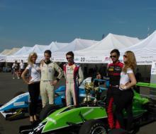 Михаил Лобода захватил лидерство в «Формуле-Россия»