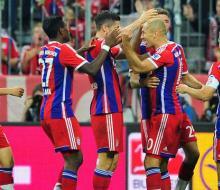 «Бавария» стартовала в Бундеслиге с победы над «Вольфсбургом»