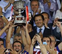 «Атлетико» обыграл «Реал» и стал обладателем Суперкубка Испании 2014
