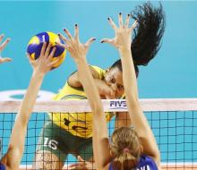 Бразильянки не оставили шансов волейболисткам России