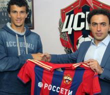 Еременко подписал контракт с ЦСКА