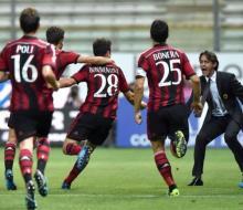 «Милан» в фееричной игре победил «Парму» в гостях