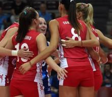 Россиянки обыграли Казахстан на ЧМ-2014 по волейболу