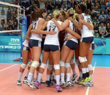 Россиянки потерпели первое поражение на ЧМ-2014 в Италии