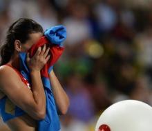 Исинбаева взяла «золото» на московском Чемпионате мира по легкой атлетике
