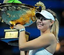 Шарапова благодаря успеху в Пекине поднялась на второе место рейтинга WTA