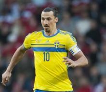 Ибрагимович не попал в стартовый состав Швеции