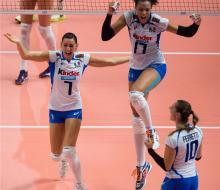 Российские волейболистки завершили борьбу за медали ЧМ-2014