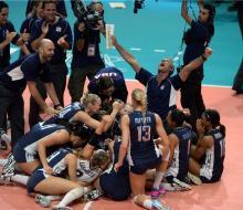 Женская сборная США по волейболу сотворила победную историю