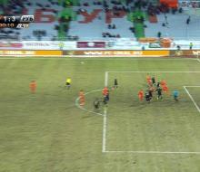 «Рубин», не забив два пенальти, обыграл «Урал»