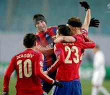ЦСКА на последних минутах вырвал ничью в матче с «Ромой»