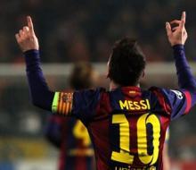 Хет-трик Месси помог «Барселоне» обыграть АПОЭЛ