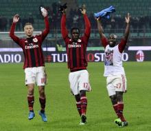 «Милан» дома обыграл «Наполи»