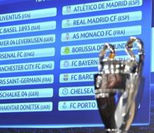 Определились пары 1/8 Лиги чемпионов