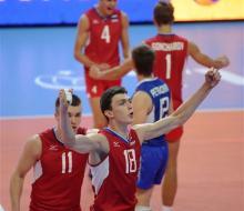 Россия обыграла Францию на молодежном ЧМ по волейболу