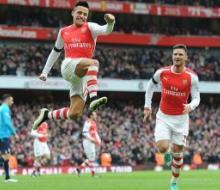 Дубль Санчеса помог «Арсеналу» разгромить «Сток Сити»