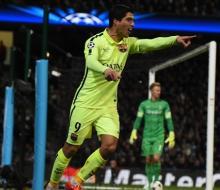 Дубль Суареса принес победу «Барселоне» над «МС»