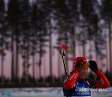 Российские биатлонистки неудачно стартовали в Ханты-Мансийске