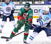 «Ак Барс» обыграл «Сибирь» и повел в серии 2:0