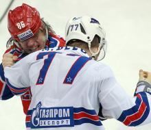 СКА разгромил ЦСКА в Москве