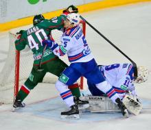 «Ак Барс» дома проиграл СКА в первом матче финала