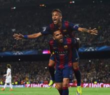 Дубль Неймара помог «Барселоне» обыграть ПСЖ