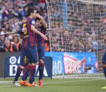 «Барселона» разгромила «Хетафе» в очередном туре Ла Лиги